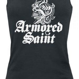 Armored Saint Logo White Toppi