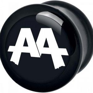 Asking Alexandria Black Logo Plugi