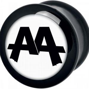Asking Alexandria White Logo Plugi
