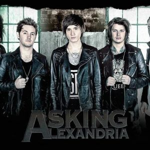 Asking Alexandria Window Juliste Paperia