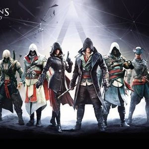 Assassin's Creed Syndicate Charakters Juliste