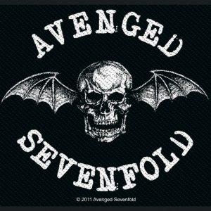 Avenged Sevenfold Deathbat Kangasmerkki 100% Polyesteria