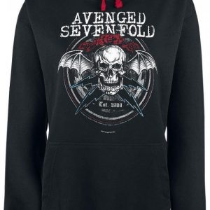 Avenged Sevenfold Rose Bolts Naisten Huppari