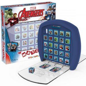 Avengers Top Trumps Match Lautapeli