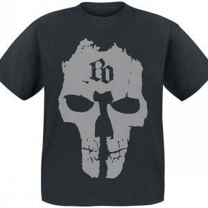 Böhse Onkelz Bo Skull T-paita