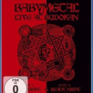 Babymetal Live At Budokan: Red Night & Black Night Blu-Ray