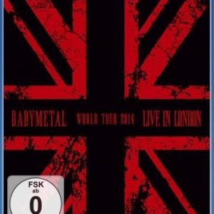Babymetal Live In London: Babymetal World Tour 2014 Blu-Ray