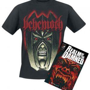 Behemoth Realm Of The Damned Bundle T-paita