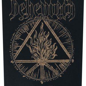 Behemoth The Satanist Selkälippu 100% Polyesteria