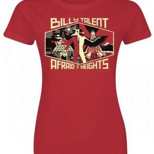 Billy Talent Afraid Of Heights Naisten T-paita