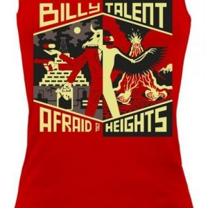 Billy Talent Afraid Of Heights Naisten Toppi
