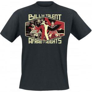 Billy Talent Afraid Of Heights T-paita