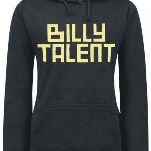 Billy Talent Louder Than The Dj Naisten Huppari