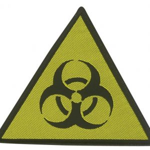 Biohazard Danger Kangasmerkki 100% Polyesteria