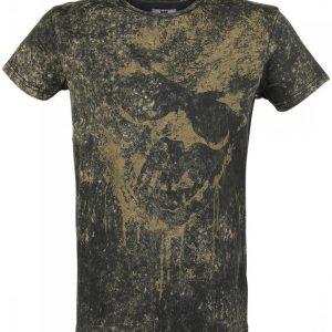 Black Premium By Emp Crinkle Skull T-paita