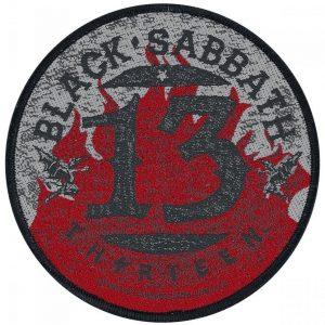 Black Sabbath 13 Kangasmerkki 100% Polyesteria