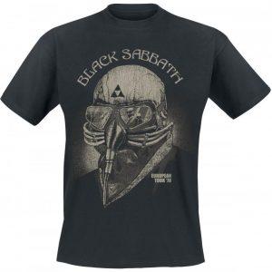 Black Sabbath European Tour 78 T-paita