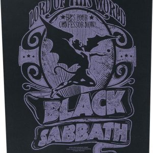 Black Sabbath Lord Of This World Selkälippu 100% Polyesteria