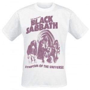 Black Sabbath Symptom Of The Universe T-paita