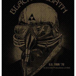Black Sabbath U.S. Tour '78 Kangasmerkki 100% Polyesteria