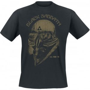 Black Sabbath U.S. Tour '78 T-paita