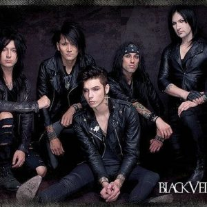 Black Veil Brides Group Sit Juliste Paperia