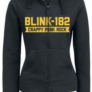 Blink 182 Barb Hood Naisten Vetoketjuhuppari