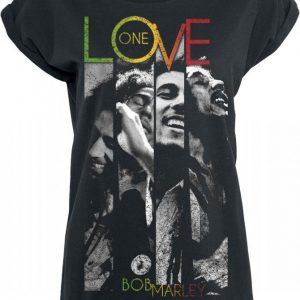 Bob Marley One Love Stripes T-paita