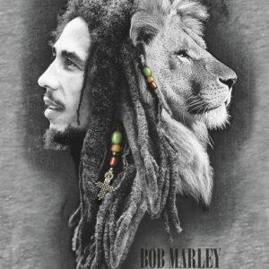 Bob Marley Profiles Seinälippu 100% Polyesteria