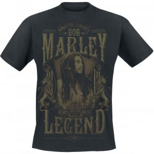 Bob Marley Rebel Legend T-paita