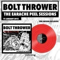 Bolt Thrower - Earache Peel Sessions - Exclusive Swedish Red Vinyl