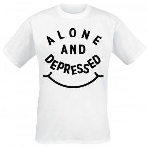 Bring Me The Horizon Alone And Depressed T-paita