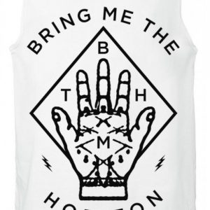 Bring Me The Horizon Diamond Hand Tank-Toppi