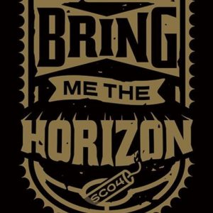 Bring Me The Horizon Dynamite Shield Seinälippu 100% Polyesteria