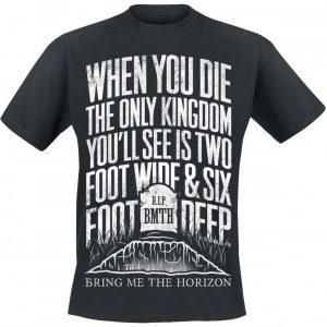 Bring Me The Horizon Grave T-paita