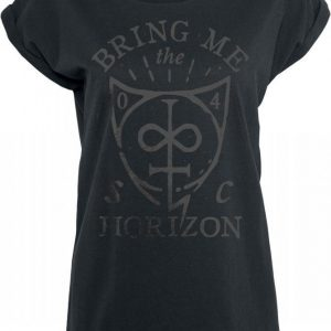Bring Me The Horizon Hand Drawn Shield T-paita