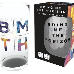 Bring Me The Horizon Logo Oluttuoppi Lasia
