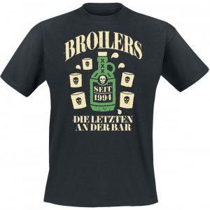 Broilers Die Letzten An Der Bar T-paita