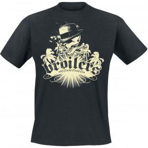 Broilers Skull & Palms T-paita