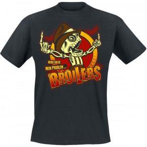 Broilers Two Fingers Meine Sache Mein Problem T-paita