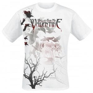 Bullet For My Valentine Crows T-paita