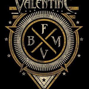 Bullet For My Valentine Emblem Seinälippu 100% Polyesteria
