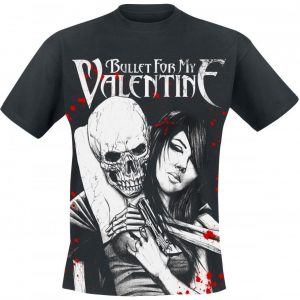Bullet For My Valentine Russian Roulette T-paita