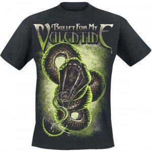 Bullet For My Valentine Venom Snake T-paita