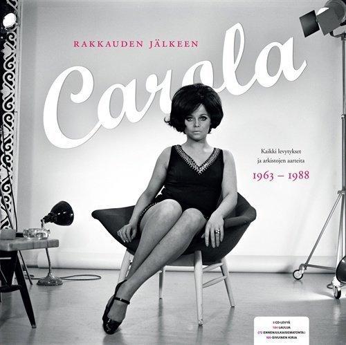 Carola - Rakkauden jälkeen - Kaikki levytykset 1963 - 1988 (8CD + 100 siv