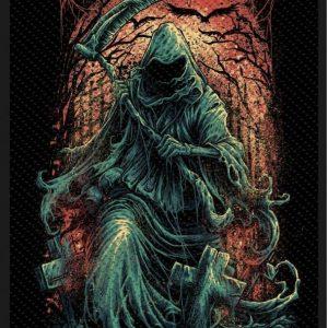 Children Of Bodom Reaper Kangasmerkki 100% Polyesteria