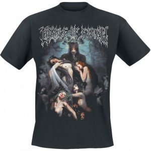 Cradle Of Filth Hammer Of The Witches T-paita