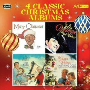 Crosby B/Sinatra F/Martin D/Cole NK - Four Classic Christmas Albums (2CD)