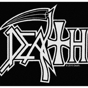 Death Logo Kangasmerkki 100% Polyesteria