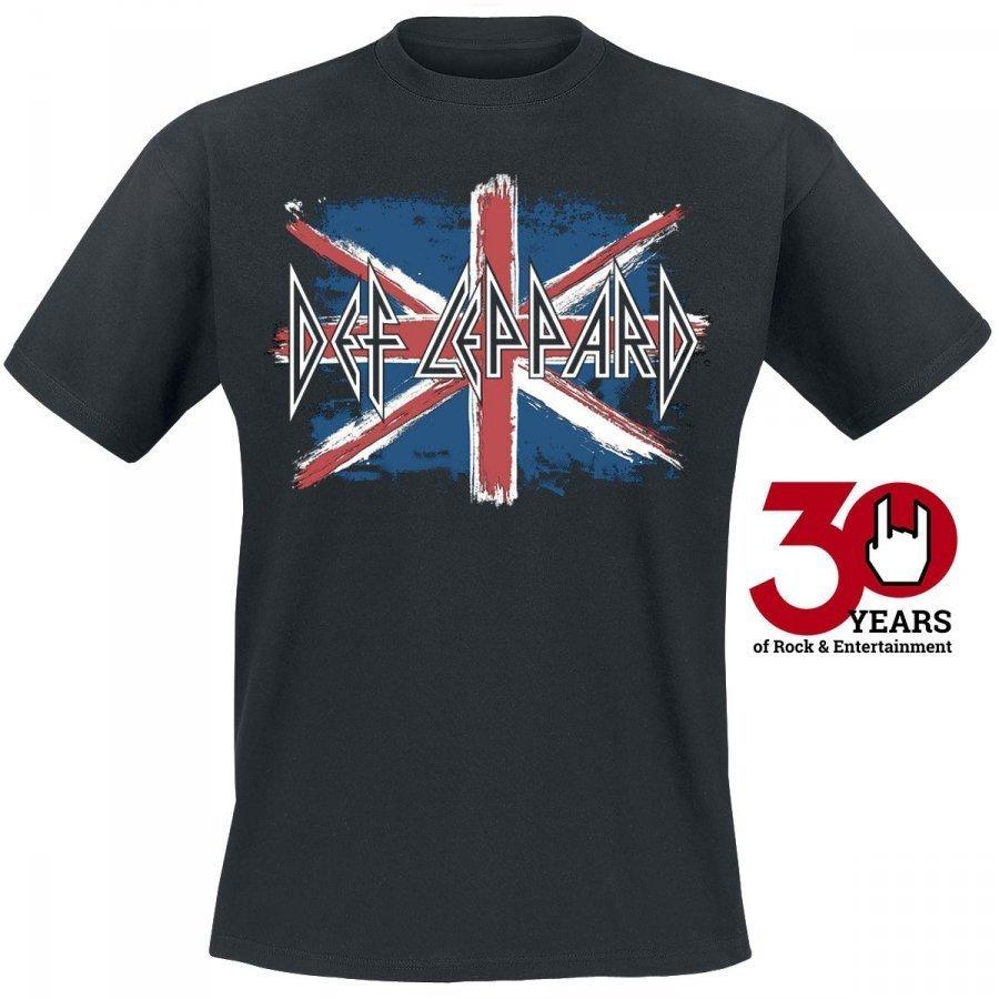 Def Leppard Flag T-paita